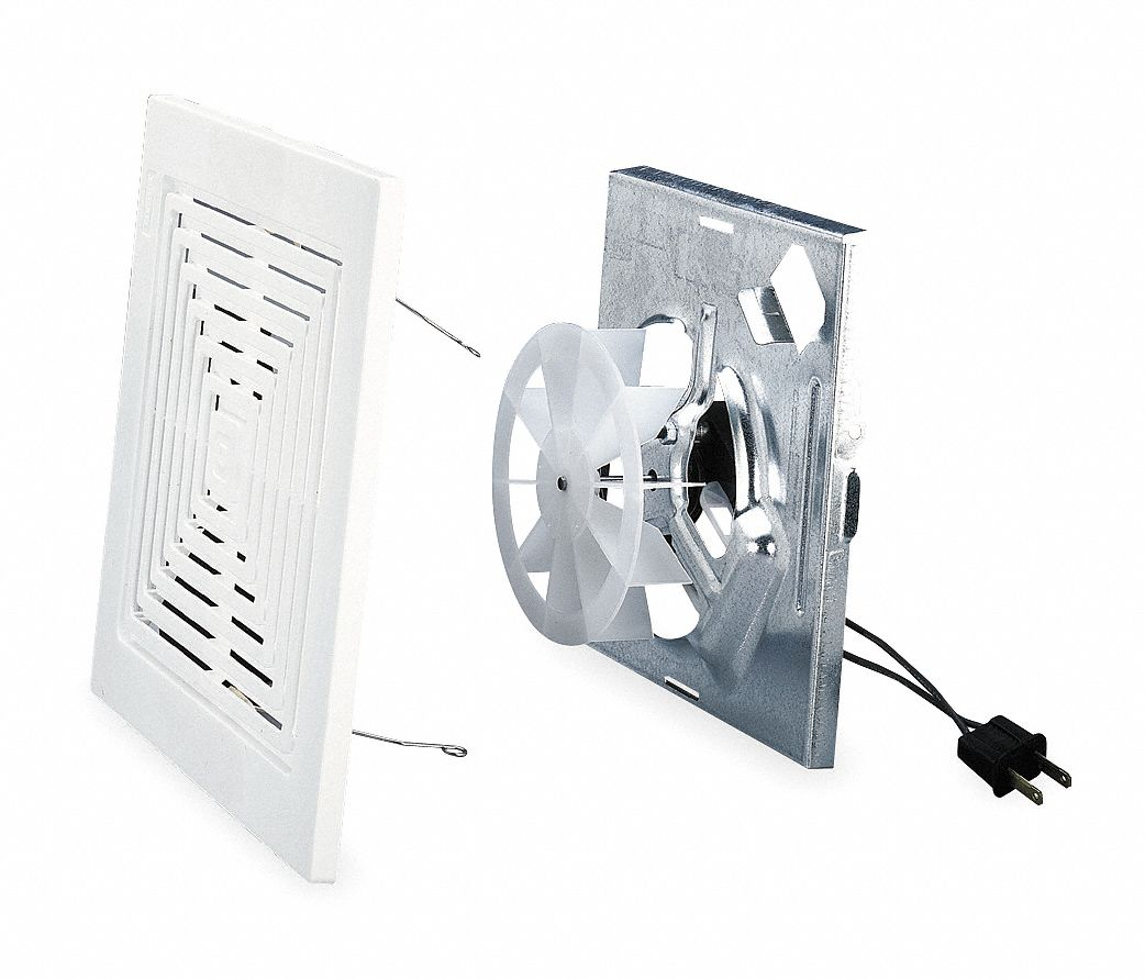 Broan bathroom fan finish kit 50 cfm 0 9a pk6 4ck01 for Part f bathroom fan