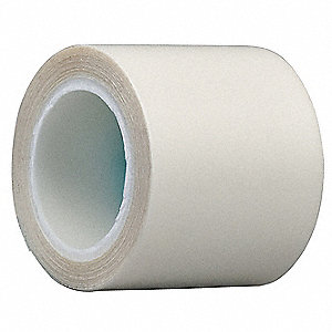 "Clear UHMW Polyethylene Squeak Reduction Tape, 6"" Width, 5 yd. Length, 7 mil Thickness"