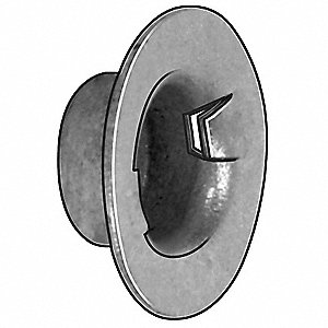 Cap Nut,Washer,Stl,1/2 In,PK25