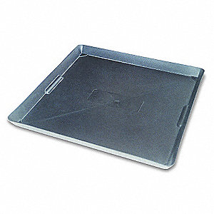 Plastic Drain Pan,22x22 In.