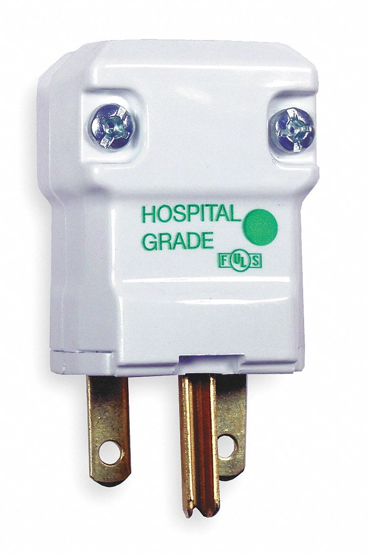 Hubbell Wiring Device Kellems 15a Hospital Grade Straight