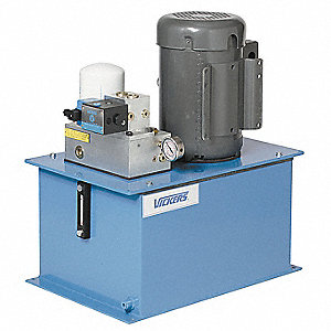 3 HP 230/460VAC Hydraulic Power Unit, 1470 psi 3 gpm
