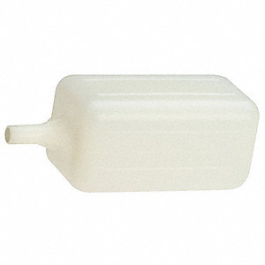 Float Ball,Rectangular,Polyethylene,2 In