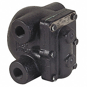 Steam Trap, 75 psi, 1450 Lbs/Hr,Max. Temp. 450°F