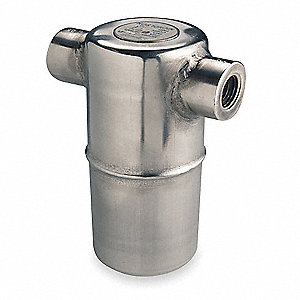 Steam Trap, 400 psi, 580 Lbs/Hr,Max. Temp. 800°F