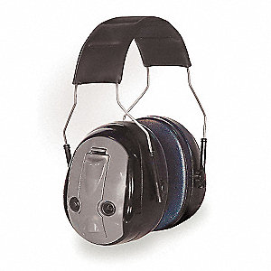 Electronic Ear Muff,26dB,Over-the-H,Bat