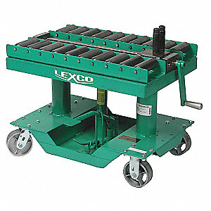Wesco Hydraulic Lift Table W Die Conveyor 2000 Lbs