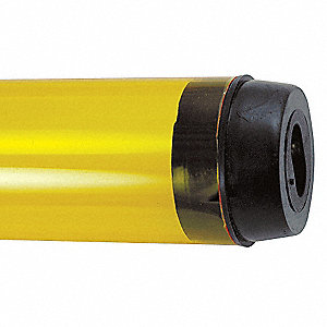 Safety Sleeve,T5 Lamps,Yellow,20 5/16 IN