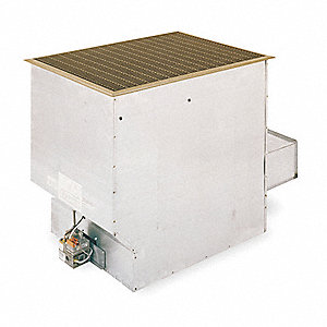 Cozy Vented Gas Floor Furnace Ng Btuh Output 21 000