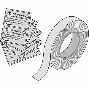Application Tape, For Use With Winter Guard Heating Cables, 1 EA