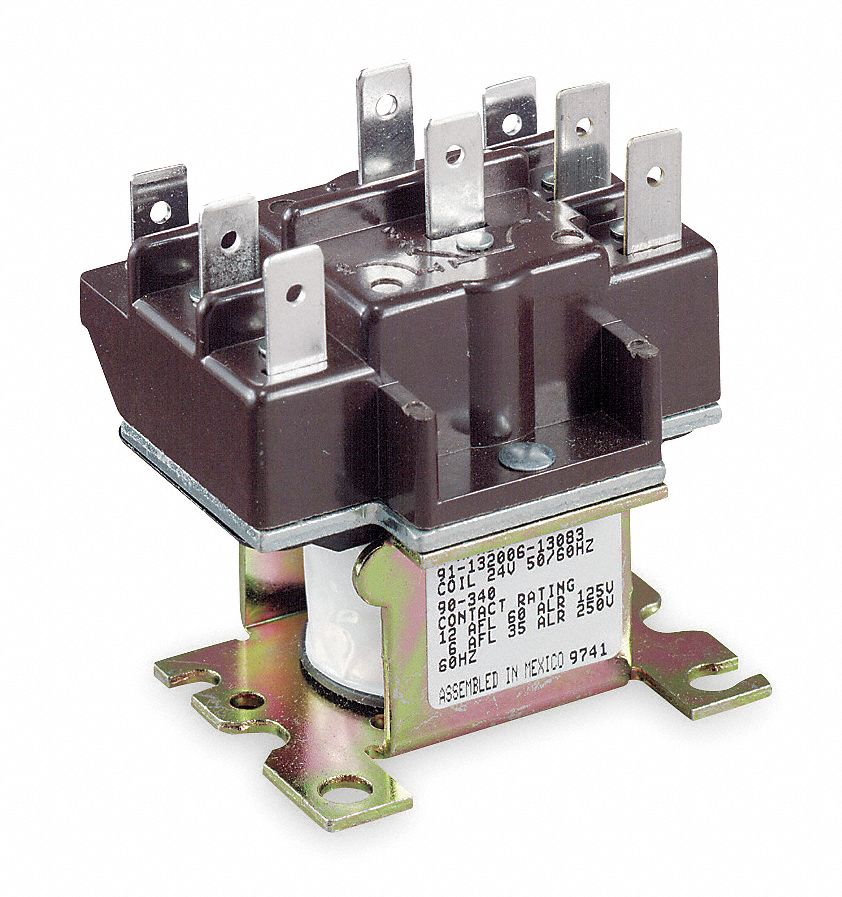 White rodgers relay switching 24 v 4e943 90 340 grainger for Furnace brook motors inventory