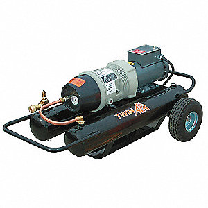 Breathing Air Compressor,17.5 AC,110 psi