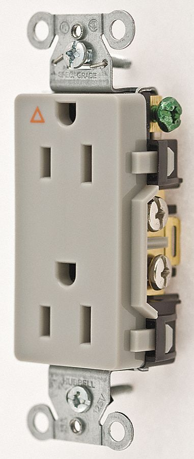 HUBBELL WIRING DEVICE-KELLEMS 15A Commercial Environments ...