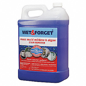 Mold, Moss, Algae, Mildew Remover, 338 oz. Spray, 1 EA