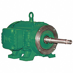 20 HP Close-Coupled Pump Motor,1765 Nameplate RPM,208-230/460 Voltage,256JP