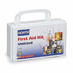 First Aid Kit,Unitized,White,5 People