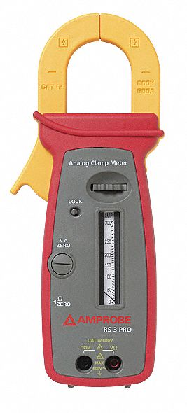 Analog Clamp Meter : Amprobe clamp on analog meter quot mm jaw