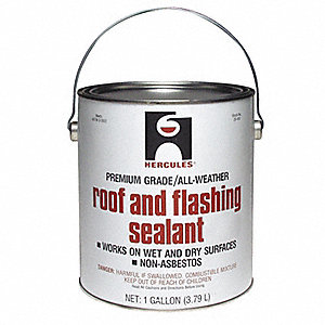 Roof Flashing Sealant,Black,1 Gal