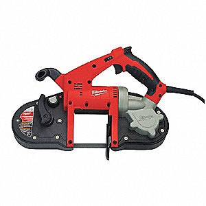 Compact Portable Band Saw Kit, Variable Speeds, 360 Surface Ft. per Min. High