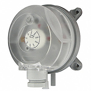 Pressure Switch,Differential,2to 10In WC
