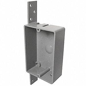 Cantex Electrical Box Pvc 1 1 4 Quot Nominal Depth 2 3 8