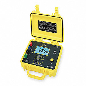 Earth Ground Tester,128 Hz,42VAC