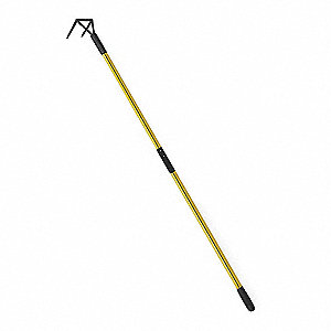 Pike Pole,Roof Hook,Fiberglass,96 In.