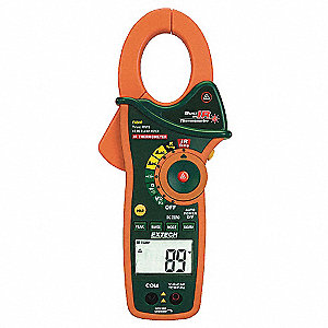 Clamp Meter,1000A,TRMS