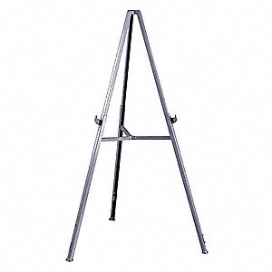 "Tripod Easel, ABS Plastic Frame Material, 62"" Overall Height"