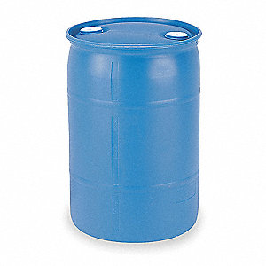 Transport Drum,Closed Head,30 gal.,Blue