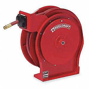 "3/8"", 50 ft. Hose Reel, 300 psi Max. Pressure"