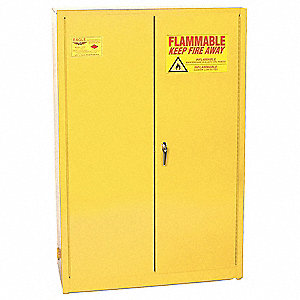 Paints and Inks Cabinet,60 Gal.,Yellow