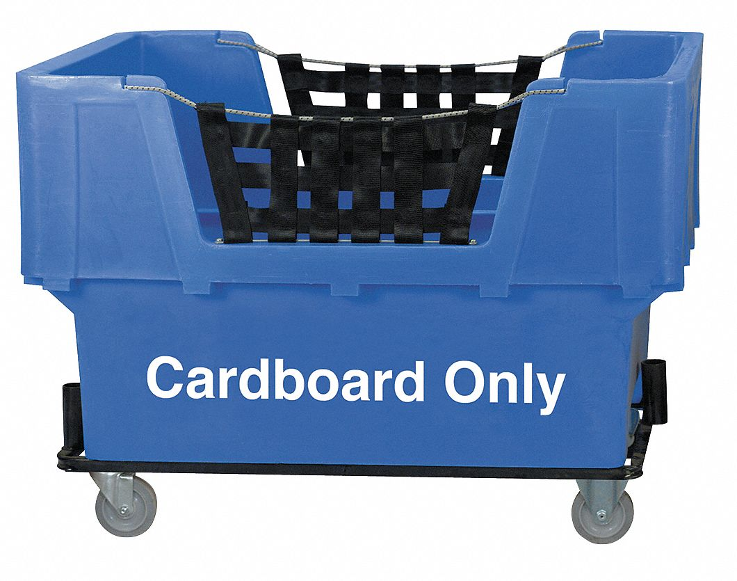 Grainger Approved Blue Cube Truck 23 0 Cu Ft Capacity