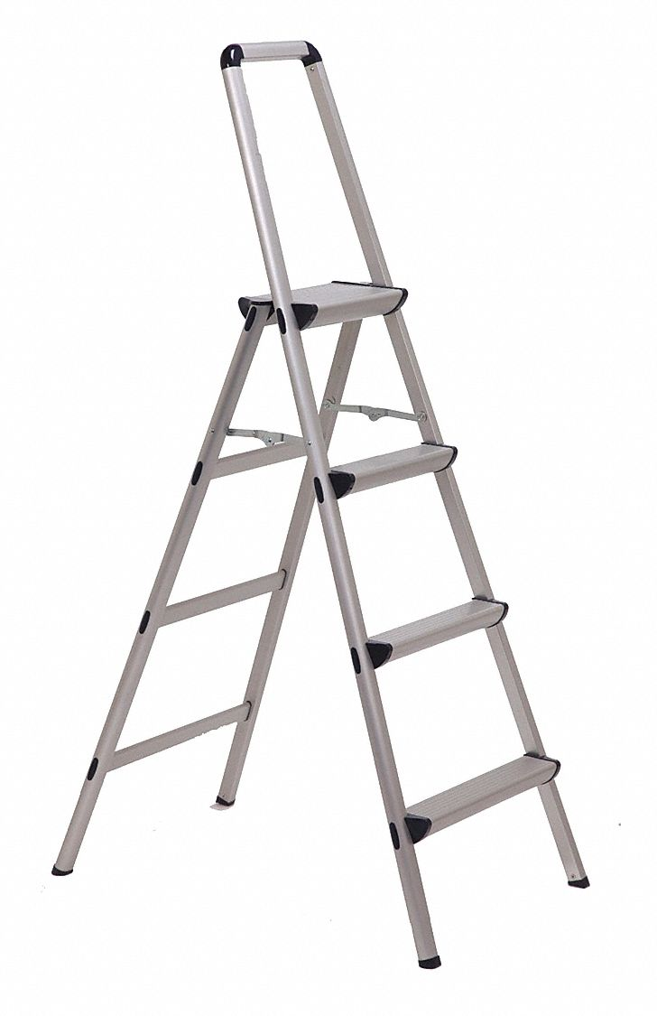 Xtend Climb Utility Step Stool 4 Step 5 Ft 225 Lb