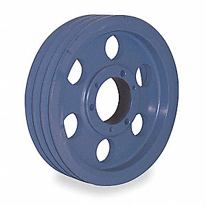 "V-Belt Pulley,Detachable,3Groove,9.75""OD"