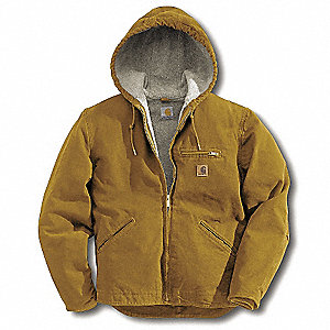 Jacket,Insulated,Brown,XL
