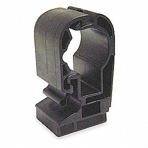 Pipe Clip,1/4 In,For 25mm Tubing