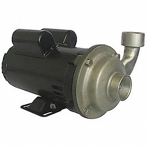 Pump, 3/4 HP, 115/230V, 8.2/4.1 Amp