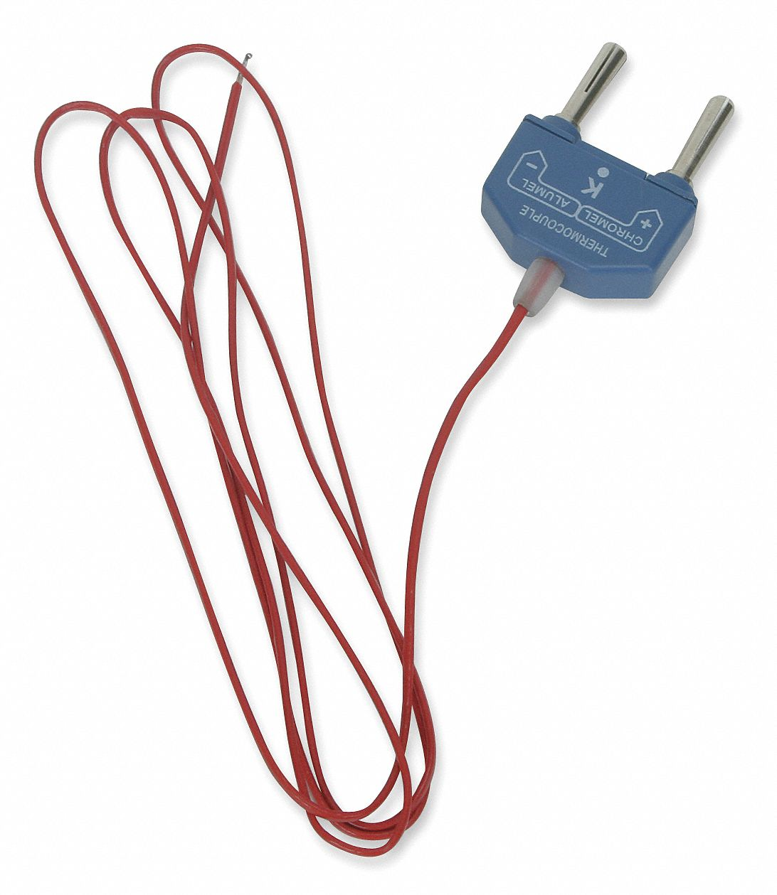 3 Wire Thermocouple : Grainger approved banana plug k thermocouple bead wire