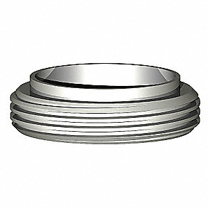 "304 Stainless Steel Ferrule, Male Acme Thread Connection Type, 2"" Tube Size"