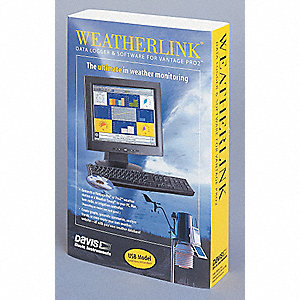 WeatherLink Software, Mac, USB