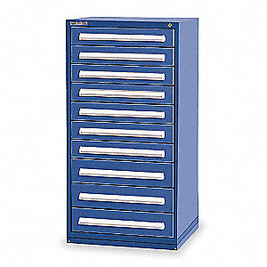 "Modular Drawer Cabinet, 59"" Overall Height, 30"" Overall Width, 27-3/4"" Overall Depth"