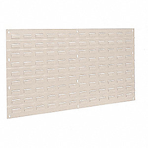 "Louvered Panel, 19"" Overall Height, 35-3/4"" Overall Width, 160 lb. Load Capacity"