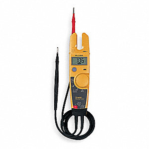 Split Jaw Clamp Meter,100A,LCD