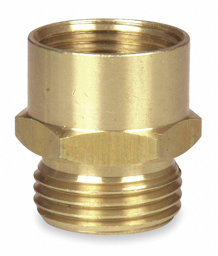 Westward hose to pipe adapter male female kg