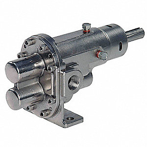 Rotary Gear Pump Head, 3/8 In., 1/2 HP