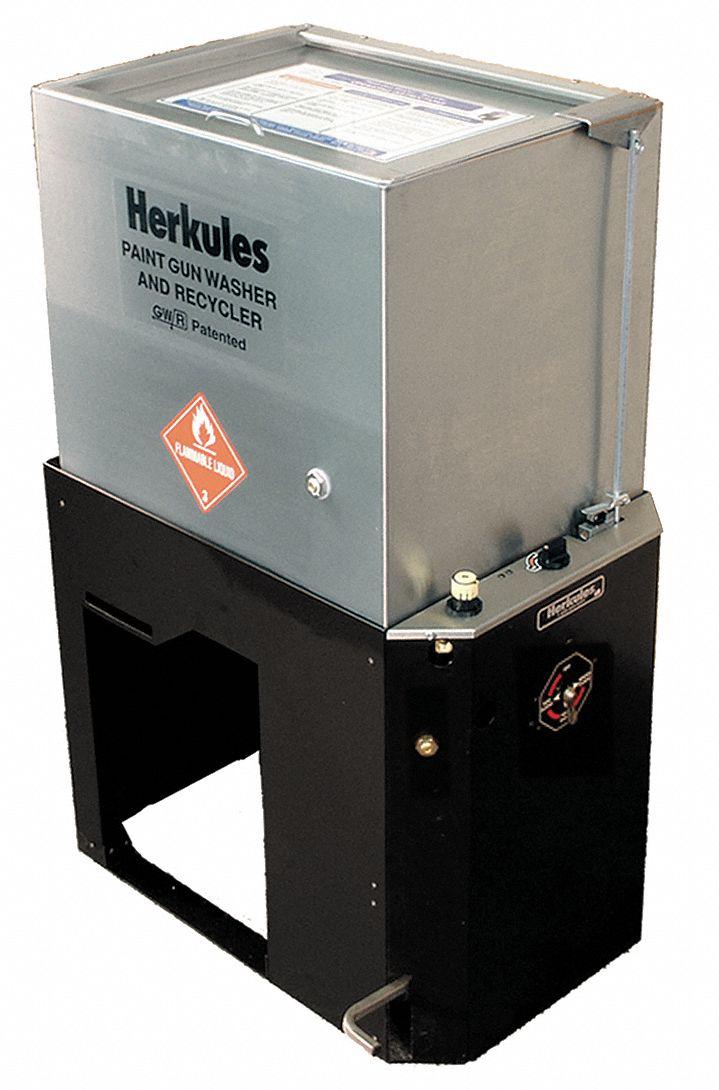 Herkules Automatic Paint Gun Washer 5 Gal 4kre4 G415