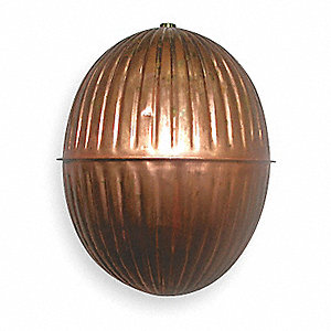 Float Ball,Round,Copper,4 In