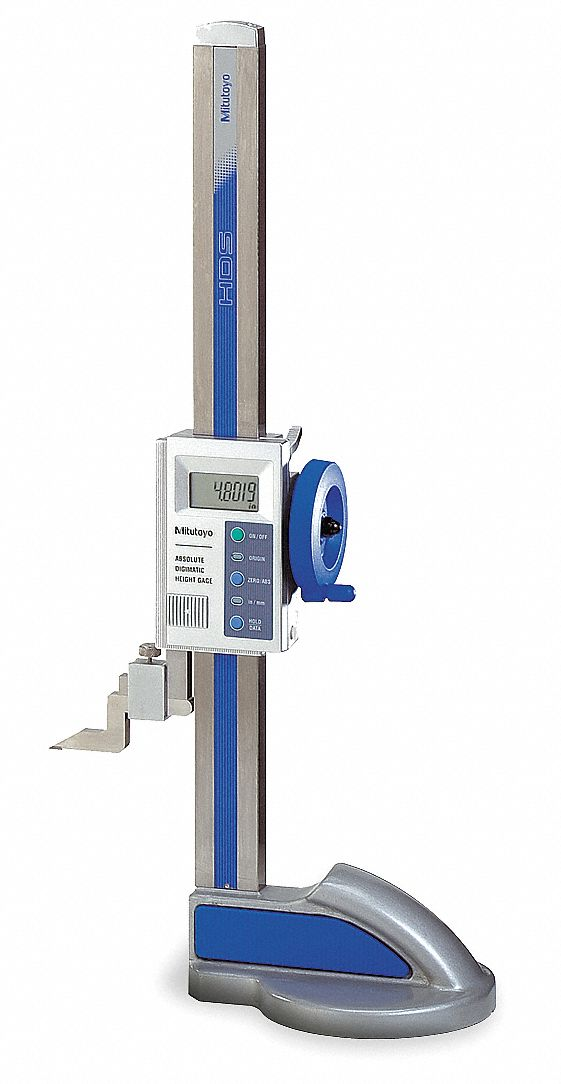 Electronic Federal Gage Products : Mitutoyo electronic digital height gauge to quot
