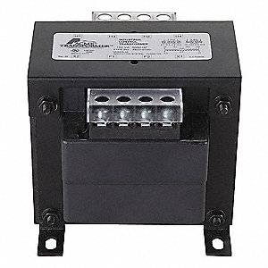 Control Transformer, 250VA VA Rating, 240/480VAC Input Voltage, 120VAC Output Voltage